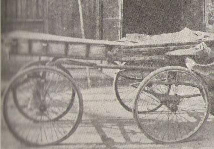 旧伝染病患者運搬車